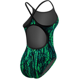 TYR Sagano Diamondfit - Maillot de bain Femme - Durafast One vert/noir